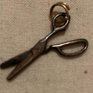 Vintage 1960s Scissors Bracelet Charm
